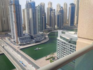 Excellent 1 br apt with marina & sea view nr metro, Dubai