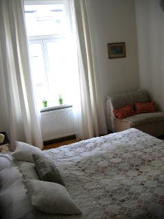 The second bedroom in the afternoon