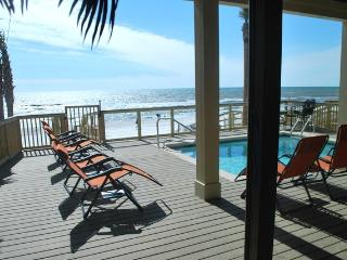 Panama City Oceanfront Home Private Pool Sleeps 16