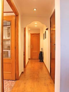Hallway, we also provide a shopping trolley to help with your super market visits
