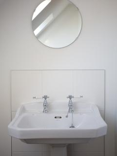 Beautiful bathroom for those relaxing moments at the end of the day.