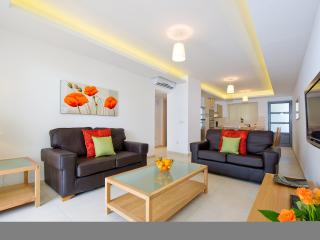 Stylishly furnished living area