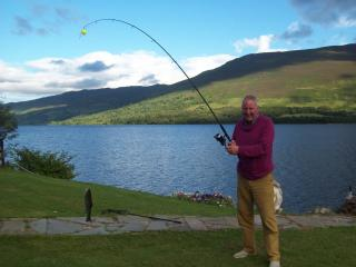 fishing in the garden Loch Earn free from March 15th