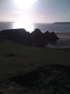 The beauty of Three Cliffs Bay is matched only by its scientific interest.