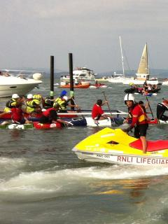 Welcome to the mayhem of the Mumbles Raft Race in August.