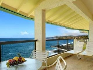 Poipu Shores 405A One of the best views in Poipu from this renovated ocean front penthouse. Free car with stays 7 nts or more*