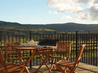 Newly converted eco barn with spectacular views, Lampeter