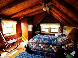 Log Home B&B 2Bedrm Suite Panoramic Mountain Views, Jonas Ridge