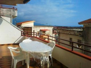 Panoramic sea view 1 bedroom apartment, Scalea