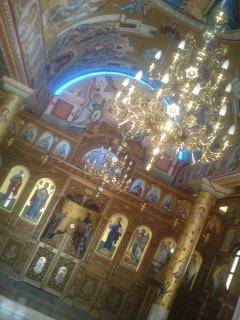 Typically amazing interior of a church