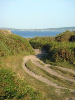 Cliff top path