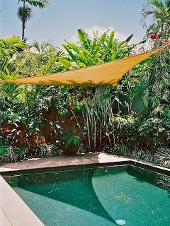 Cool & refreshing swimming pool, securely fenced, large and fun but not heated.