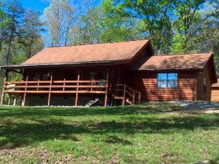 Log Home in Beautiful Private Setting on 10 acres with Pond, Dunlap