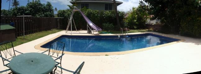 Full Size pool and Slide