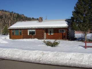 Fam Friendly High Mountain Log Home - Lots of Snow, South Fork
