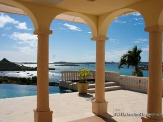 Luxury VILLA JARDIN DE BELLEVUE, 4 to 6 bedroom Villa in Bellevue St. Martin with amazing Views