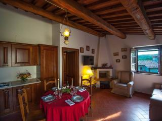 ancient cottage with panoramic views - sleep 5, Roccalbegna
