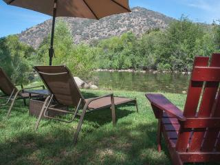 Rustic Cabin on the Main Fork of the Kaweah River, Three Rivers