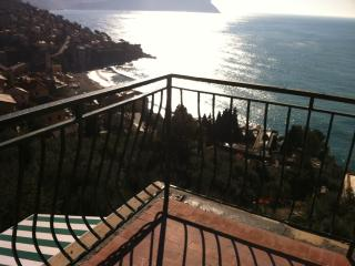 House with terrace which can welcome two families, Pieve Ligure