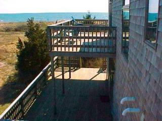 View from balcony - 17 Uncle Venies South Harwich Cape Cod New England Vacation Rentals