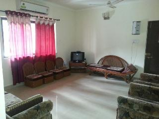 Modern 2 BHK flat in Calangute with swimming pool