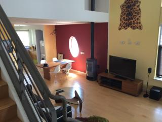 Furnished two level-penthouse loft, Emeryville