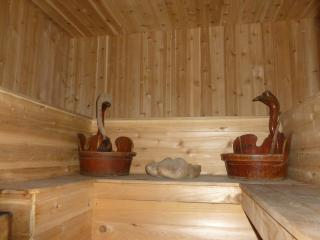 SPACIOUS  HOUSE with WOOD-FIRED SAUNA in by owner!, Liberty