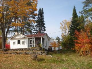 Adirondack Historic Bungalow Overlooking Gore Mountain, North River