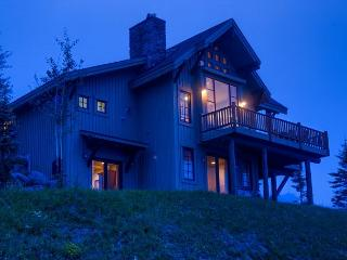 Spectacular views and more in this lux home on the slopes of Moonlight Basin, Big Sky