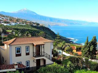 Tranquility, good climate, view sea and Teide., El Sauzal