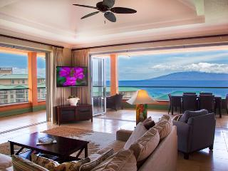 Maui Westside Properties: Konea 1019 - Ocean View 3 bedroom Penthouse with BBQ!, Ka'anapali