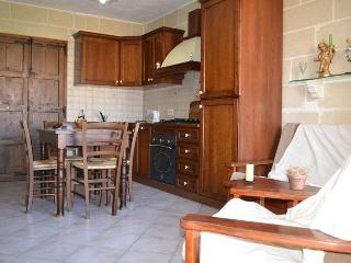 A Corner 2 Bed Room Apartment  with A/C in Qawra -, Bugibba