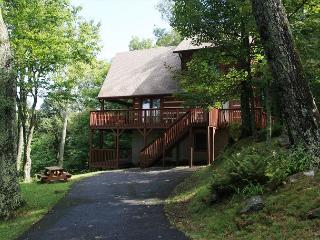 Ski Acres Place a 3 level log cabin with great view on Appalachian Ski Mtn., Blowing Rock