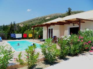 naturist villa with private pool at Skala near mou