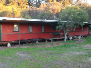 Rusty Hollow Railway Carriage, Perth