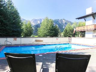 Modern and stylish home near the ski lifts with a hot tub!, Ketchum