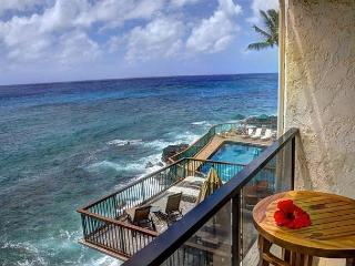 Poipu Shores B201: Unbelievable view! Newly remodeled 2br in sunny Poipu., Koloa