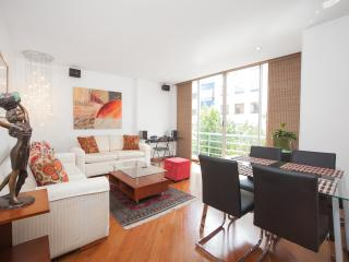 Eclectic 2 Bedroom Apartment in Zona T, Bogota