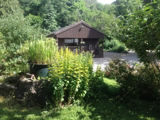 Sycamore Luxury Log Cabin, Penycoed Holiday centre, Pant