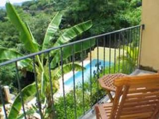 Awesome oceanview condo on hillside, cable, kitchen, a/c, shared pool, Tamarindo
