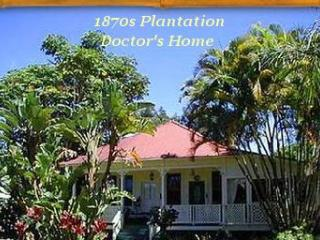 Haiku Plantation,  4 Bedroom 1870s  Historic Home