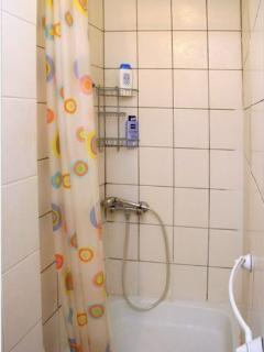 Shower (there is no bathtub! in the flat!)
