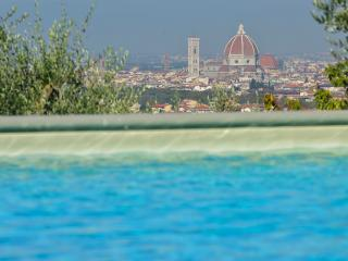 Charming apartment, Florence Duomo view, pool, Bagno a Ripoli