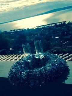 A winter Cheers from our terrace