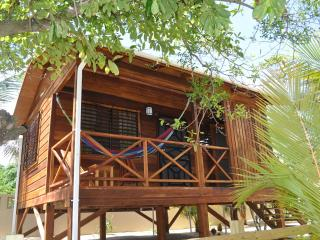 1 BR Baby Blue Cabana on Beachfront Lot with Sea Views, Hopkins, Belize