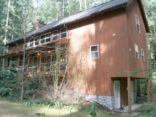Snowline Cabin #100 - This beautiful 3-story home is pet friendly and has a private out door hot tub!, Glacier