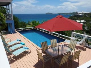 Calypso Blu at Frenchmans Bay Estates, South Side, St. Thomas - Ocean View, Overlooking Beach, Close