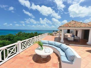 SPECIAL OFFER: St. Martin Villa 298 From Any Vantage Point Along The Lengthy Sea-facing Deck You Feel Like You're On Top Of The World., Terres Basses