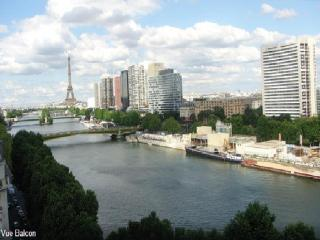 Luxury Flat 95m²-2 mn view Eiffel Tower, Paris