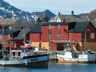 Fishermans hut, Stamsund in Lofoten